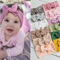 1 шт.; Повязка на голову для новорожденных; Мягкая эластичная повязка на голову с бантом для маленьких девочек; Повязка на голову принцессы; Д...