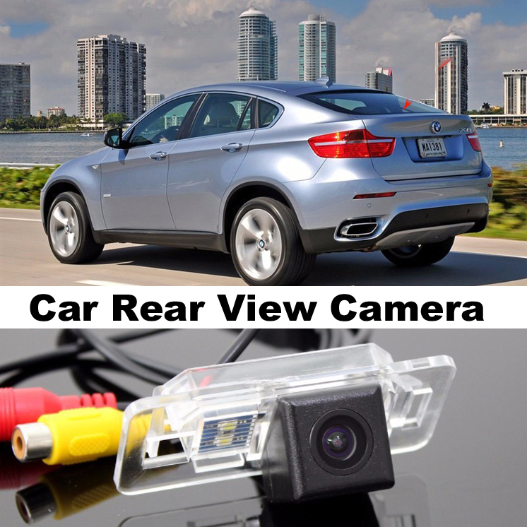 Car Camera For BMW X6 X6M E71 2008~2014 High Quality Rear View Back Up Camera For Top Gear Friends to Use  CCD With RCA