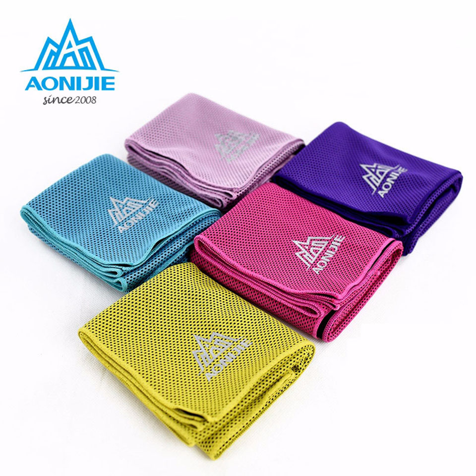 Sports Ice Towel: AONIJIE Swimming Quick Drying Running Towel Travel Gym Ice