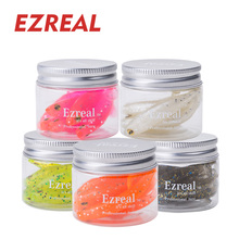 EZREAL 8pcs/lot T Tail Soft Lure 2.7g 70mm Paddle Tail Grub silicon fishing lure wobbler Worm for bass Fishing Bait swimbait