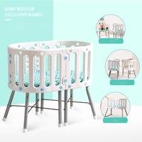Новая многофункциональная детская колыбель сшивание двухъярусная кровать Детская Держатель для кроватки ребенка дети стол для учебы стул