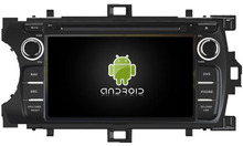 Navirider Eight Core Android 7.1.1 4GB ram car DVD player for  TOYOTA YARIS  2012 multimedia head unit radio with gps stereo