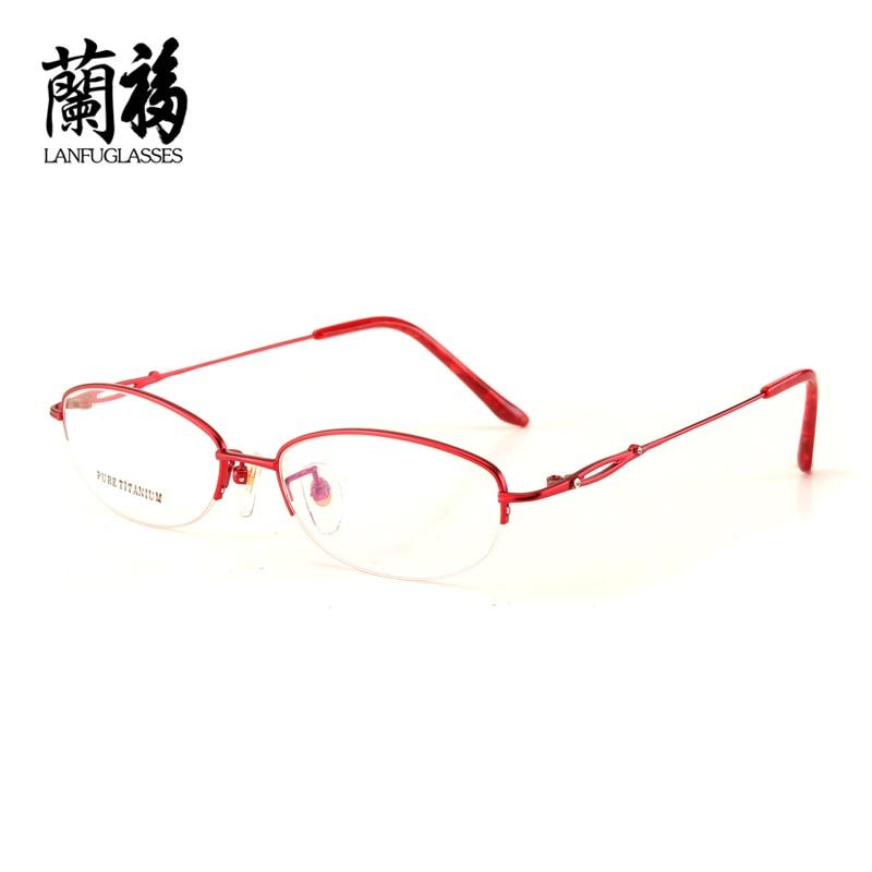 Men's Eyewear Frames Chashma New Fashion Retro Optical Glasses Myopia Frame Adjustable Nose Pads Ultra Thin Legs Prescription Eyewear Frames Apparel Accessories