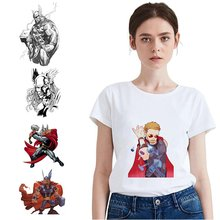 Marvel Avengers Thor Summer Plus Size Loose O-NECK Modal Short Sleeve Womens T Shirts 2019 Fashion Casual Cool T-Shirts A193291