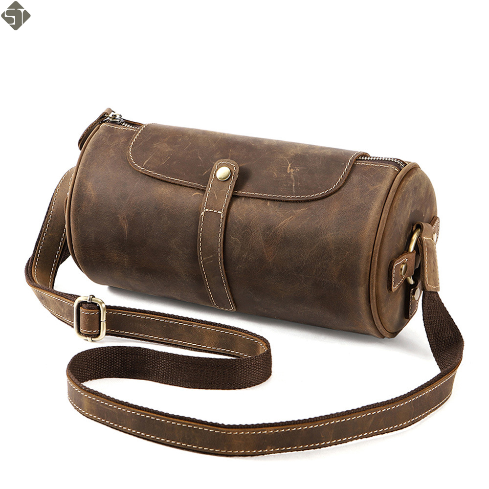Men's Genuine Leather Shoulder Bags Fashion Men Messenger Bag Small ipad Male Tote Vintage New Crossbody Bags Men's Handbags zznick genuine leather shoulder bags fashion men messenger bag small ipad male tote vintage new crossbody bags men s handbag