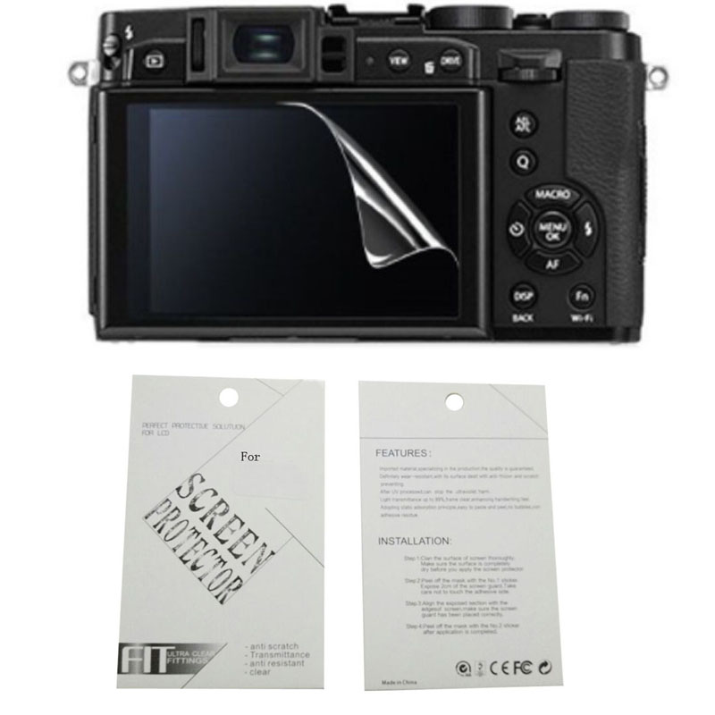 2pieces New Soft Camera Screen Protection Film For Fujifilm X100 X30 X70 X100F X100S X-A2 X-A3 X-A5 X-A10 X-A20 X-E2 X-E3