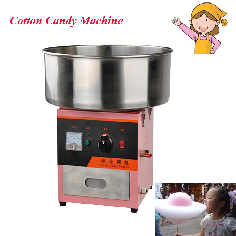 1pc Commercial Electricity Cotton Candy Machine Cotton Floss with English Instructions FY-316 electricity market reform