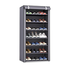Non-woven Fabric Dustproof Shoe Rack Organizer Can be moved