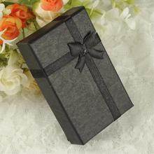 Free Shipping 8 X 5 X 2.5cm Jewelry Gift Box Paper Carton Suqare Case For Ring Earring Watch Necklace Packaging And  Display