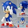10 cm de Sonic figuras de ação PVC brinquedos coleção figuras brinquedos com caixa