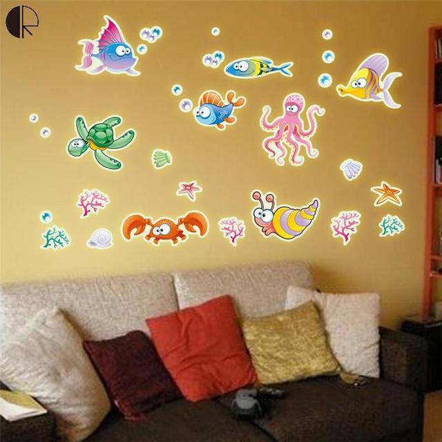 Creative Home Wall Decor Luminous Wall Stickers For Kids room ...