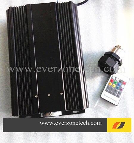 Vláknový optický generátor s vysokým jasem 75 W LED s RF ovladačem