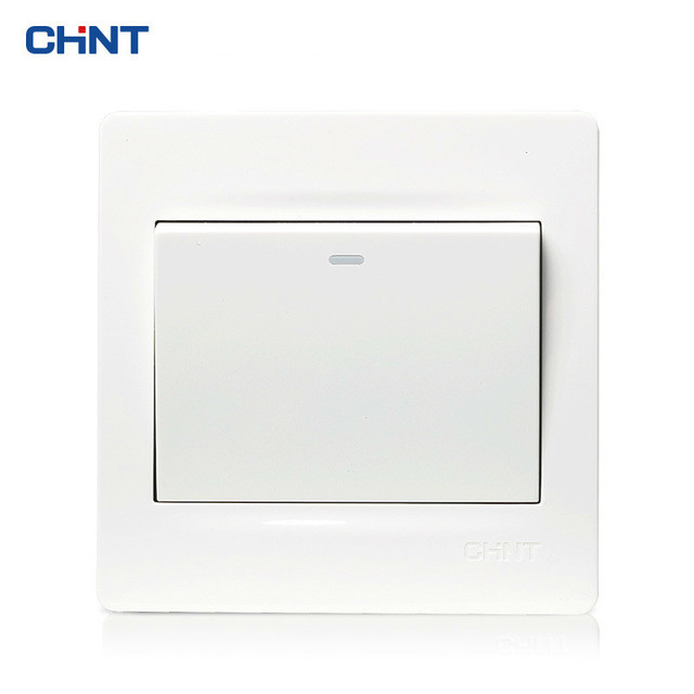 CHNT 86 Type Wall Switch Panel NEW7N Ivory White One Gang Multi ...