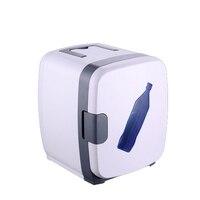 13L мини холодильник Авто Портативный холодильник небольшой нагреватель морозильник автомобиля домой доль Применение белые летние хранени
