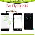 Для Fly IQ4416 IQ 4416 ЖК-Экран + Сенсорный Экран Планшета Панели Бесплатная Доставка С Отслеживанием