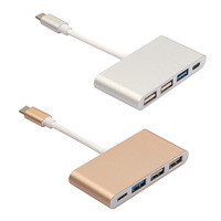 Type C HUB USB 3 1 To 4 Port USB3 0 USB2 0 Cable Adapter Type