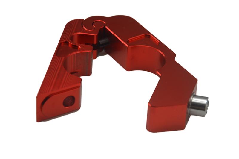 Universal Motorcycle Throttle Lock - Aluminum Handle Brake Lock