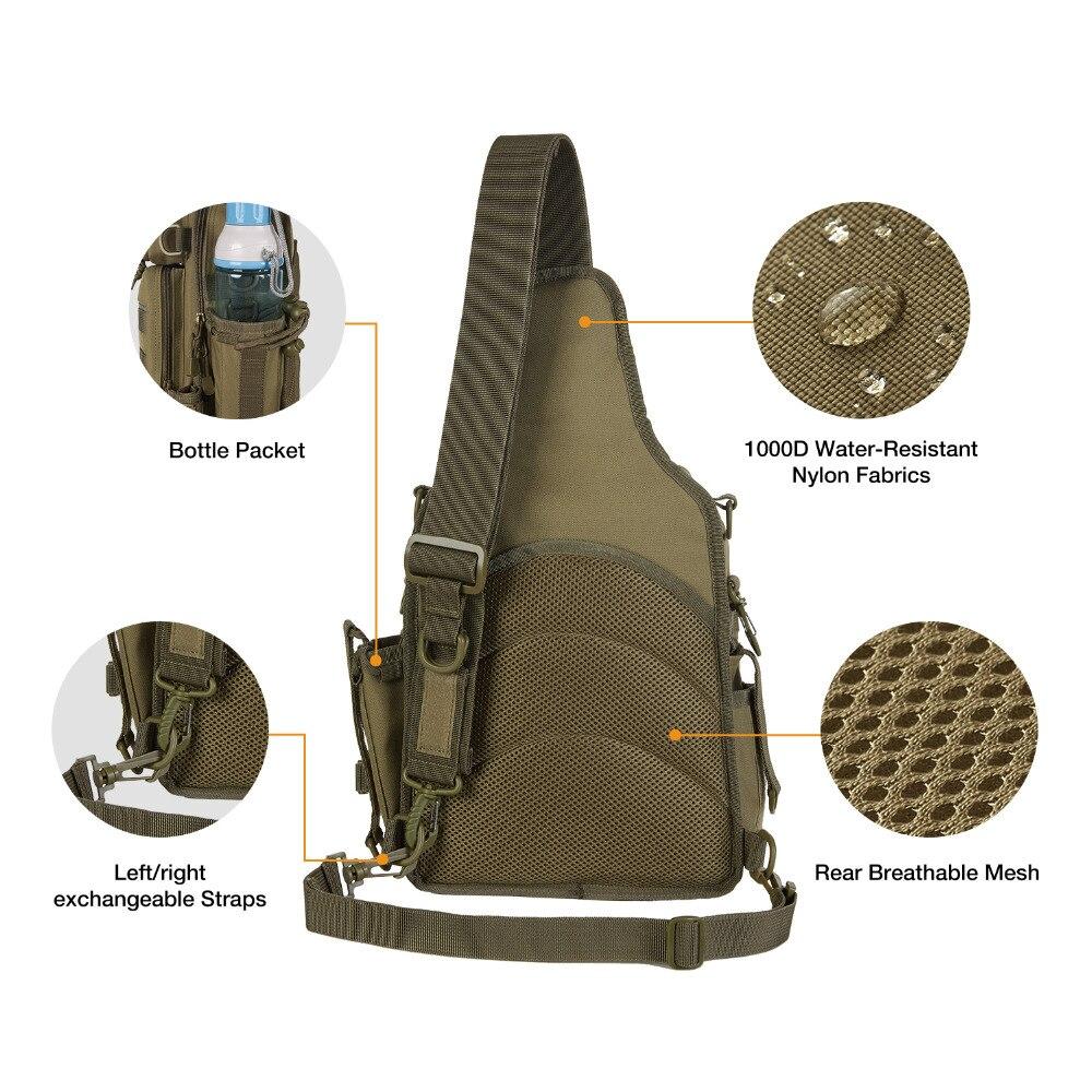 dural ombro unico pesca acampamento caminhadas equipamento sacos 05