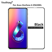 1PCS For Asus Zenfone 6 Glass Full Glue Coverage Screen Protector Film For Asus Zenfone 6 ZS630KL Glass for Asus Zenfone 6 Film стоимость