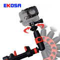 Gopro Accessories 360 Degree Rotation Mount Fixed bracket Adjustable Tripod for Go pro Hero 4 3+ 3 SJCAM sj4000 Xiaomi Yi Camera