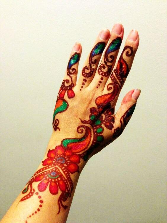 7pcs Lot Golecha Henna 7 Colour Tattoo Tube Cream Cones Indian