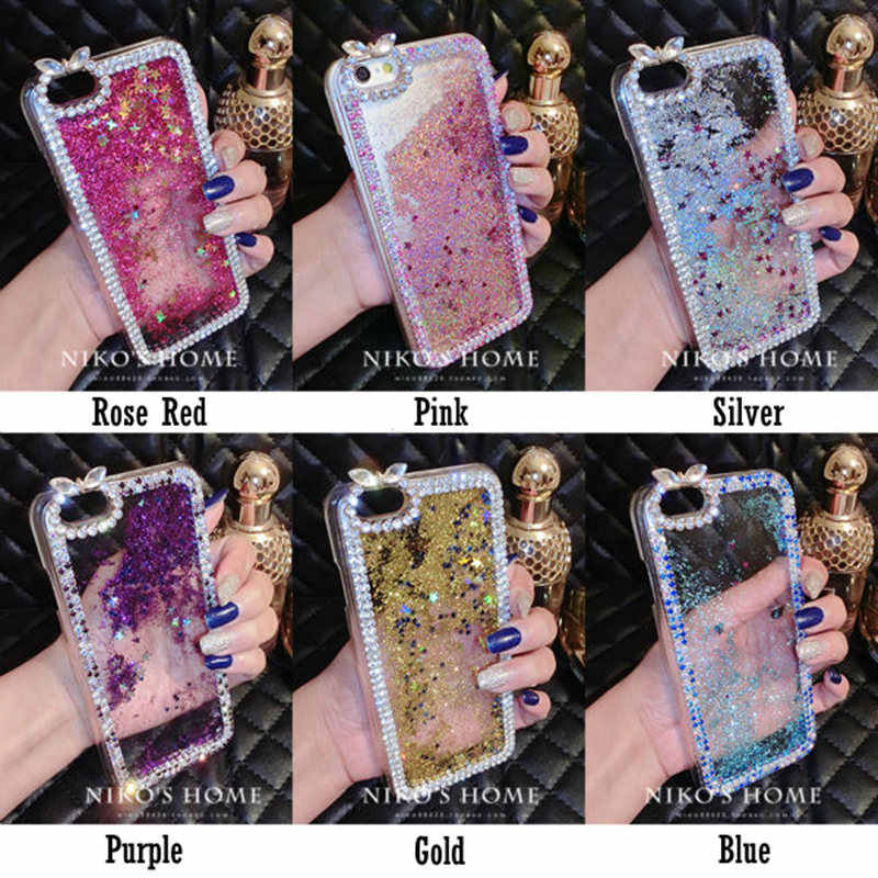 Detail Feedback Questions about Dir Maos For iPhone Xs Max Case Xr 2018 X 8  Plus 7 Plus 6 6s 5 5s SE Diamond Water Fashion Women Glitter Cover Cool  Bling ... ce6e19f997