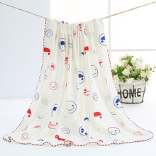 Summer and Autumn Cotton Baby Bag by Newborn Thin Section Blanket Quilt Wrapped Cloth Hold Towel