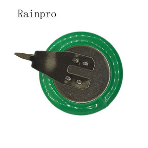 Image 5 - Rainpro 2PCS/LOT  3.6V 80mAh NI MH  Ni MH Batteries With Pins  Rechargeable Button Cell Battery for Clock memory lawn lamp
