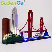 Светодиодный светильник susenco для архитектуры 21043 Сан Франциско