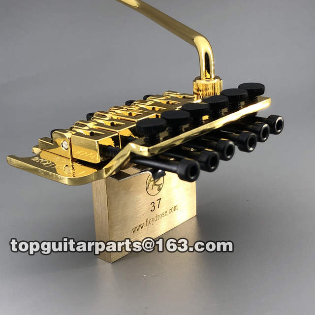 42mm nut Floyd Rose 6 string 37mm brass block FRTS1000 electric guitar  tremolo bridge for ST PRS Suhr electric guitars well