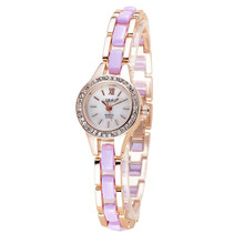 Women's watches Relogio feminino Fashion High – end Watches Round Dial Saat Bracelet Table Women 's Watches for women A21