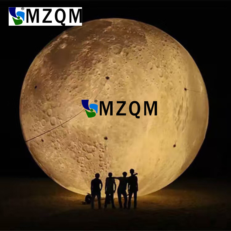 MZQM 6 meters diameter LED white  Inflatable moon Inflatable Crescent moon stage decorative party decoration Inflatabl moonMZQM 6 meters diameter LED white  Inflatable moon Inflatable Crescent moon stage decorative party decoration Inflatabl moon