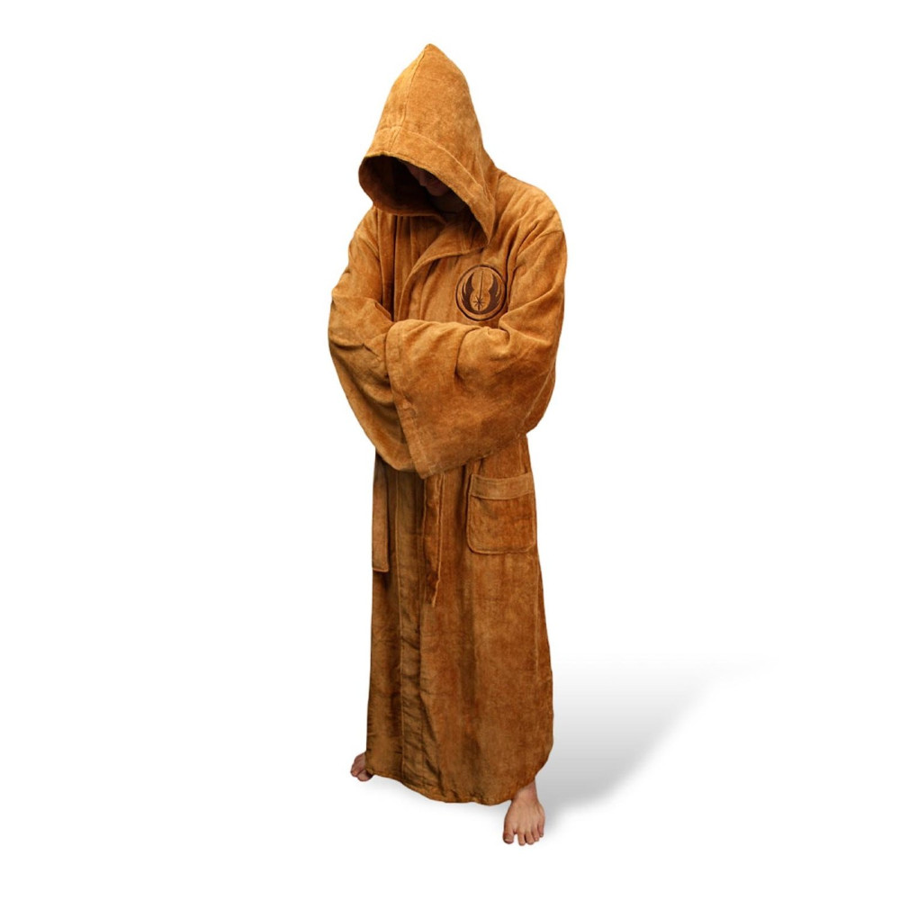 Underwear ... Men's Sleep & Lounge ... 32774994108 ... 4 ... Fetoo Flannel Robe Male With Hooded Thick Star Wars Dressing Gown Jedi Empire Men's Bathrobe Winter Long Robe Mens Bath Robe ...