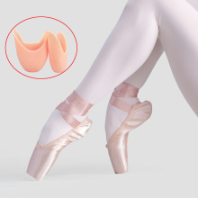 Girls Ladies Ballet Pointe Shoes Adult Women Professional Satin Dance