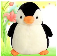 middle size cute penguin toy lovely black and white penguin doll gift about 37cm