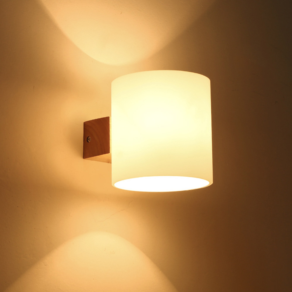 Bedroom modern wall lights - European Style Bedroom Wall Lamp Led Modern Wall Lamp Flexible Wood Bedside Reading Light Study Painting
