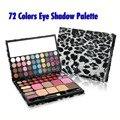 Cuidado de la belleza de 72 Colores de Maquillaje Paleta de Sombra de Ojos Shimmer maquillaje Paleta Cosmética Sombra de Ojos Kit de Maquillaje Set Sexy Leopard Caso