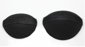 Image 2 - 2pcs easy hair Braider The Princess Styling Hair Fluffy Sponge Pad Increased hair styling style dressing beauty make up fast bun