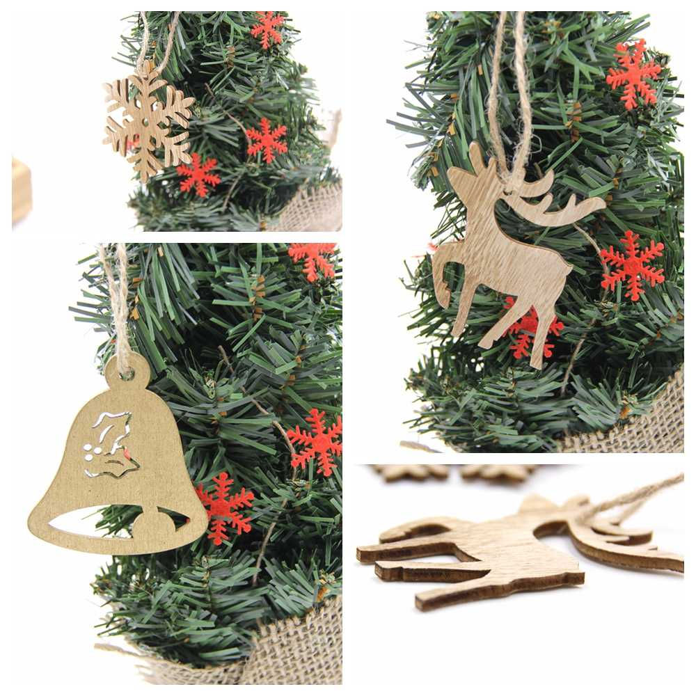 Christmas Wood Crafts.Multi Style Can Option Christmas Wooden Pendants Ornaments Diy Wood Crafts Xmas Tree Ornament Christmas Party Decorations Gifts