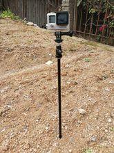 Ground Selfie Stick Stake Pole Tree Tripod Stand Holder for Gopro Hero Xiao Yi sjcam action camera smartphone Hunt Trail Camera