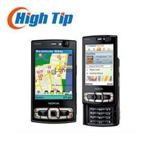 Оригинал nokia n95 разблокирована gsm 3 г мобильный телефон 2.6 дюймов или 2.8 дюймов (8 ГБ внутренней памяти) четырехдиапазонный 5MP WIFI GPS гарантия 1 год