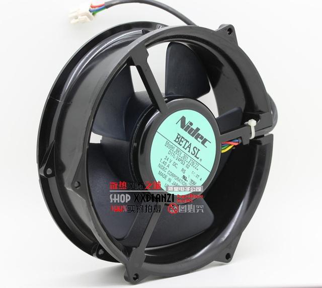 Nueva BKV301 1.40A 216/77 D17L-24PS3 24 V 02 ventilador de refrigeración
