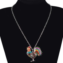 Alloy Chicken Necklace