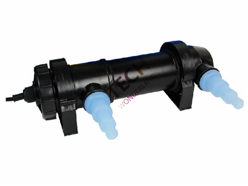 JEBO Aquarium Kolam UV Sterilizer Lampu Cahaya Air Cleaner Fish Tank Ultraviolet Filter Clarifier 5 W 7 W 9 W 11 W 13 W 18 W 24 W 36 W