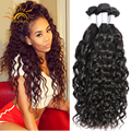Peruvian Virgin Hair Water Wave Virgo Hair Company Unprocessed Peruvian Ocean Wave Wet And Wavy Human Hair Natural Wave 3Pcs Lot