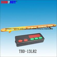 TBD-13L82 высокое качество супер яркий 1.8 м желтый индикатор световой, инженерные/аварийной световой, DC12V/24 В крыше автомобиля флэш Strobe Light