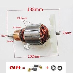 Image 1 - AC220 240V כונן פיר חשמלי שוחק חגורת סנדר מכונת אבזור הרוטור לקיטה 9404 9920 9903 9902, באיכות גבוהה!