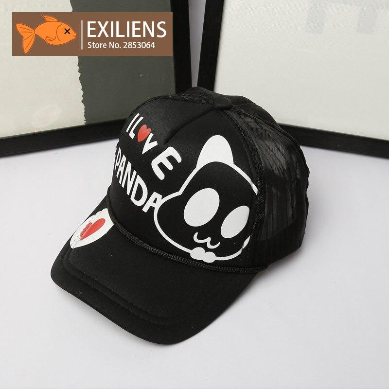 panda baseball hat kung fu cap philippines new fashion brand font caps cotton