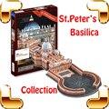 Regalo de Año nuevo St Basílica de san Pedro Del Vaticano Iglesia Católica Romana Del Rompecabezas 3D Modelo de Papel Del Rompecabezas de la Construcción de Tierra Santa DIY Juguetes Presente