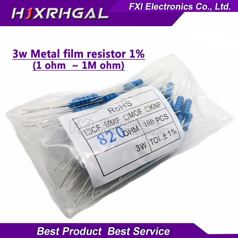 ± 5/% Through Hole Résistance AC Series 10 ohm axial au plomb 3 W